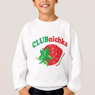 Strawberry in Russian Sweatshirt