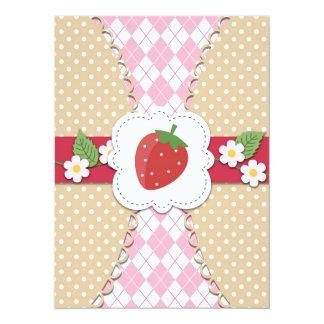 Strawberry Invitation for All Occasions