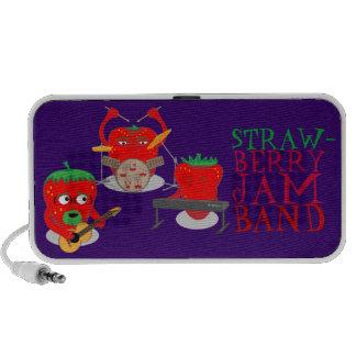 Strawberry Jam Band Speakers