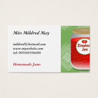 Strawberry Jam Business Card