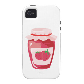 Strawberry Jam Vibe iPhone 4 Covers