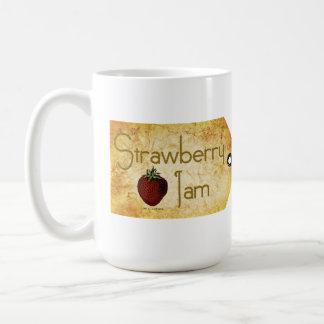 Strawberry Jam Label Coffee Mug