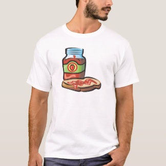 strawberry jelly jam and toast T-Shirt
