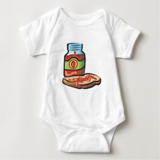 strawberry jelly jam and toast t shirt