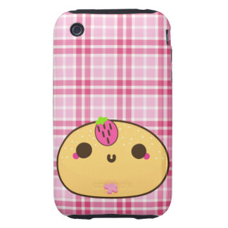 Strawberry Jelly Powder DOH!NUT iPhone 3 Tough Cases