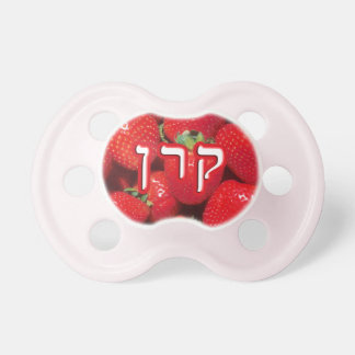 Strawberry Karen, Keren, Karyn Pacifier