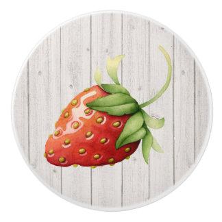 Strawberry Kitchen Drawer Knob - SRF