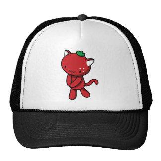 Strawberry Kitty Trucker Hat