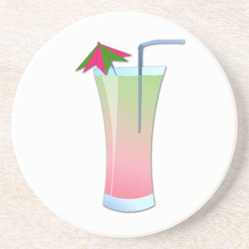 Strawberry Kiwi Cooler Beverage Coaster