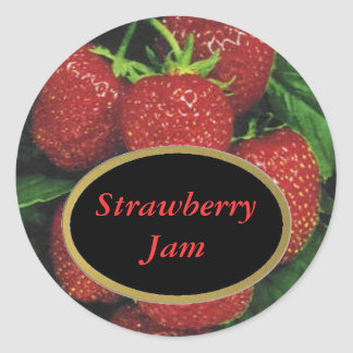 Strawberry Label Stickers