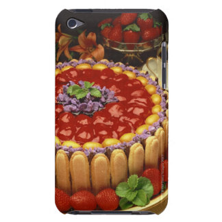Strawberry lady finger cake barely there iPod cover