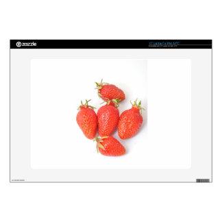 strawberry laptop decals