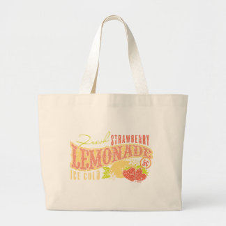 Strawberry Lemonade Canvas Bag