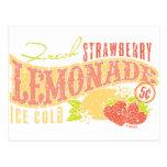 Strawberry Lemonade Postcard