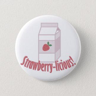 Strawberry-licious Button