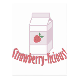 Strawberry-licious Postcard
