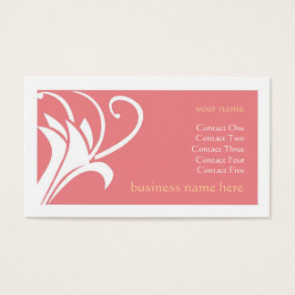 Strawberry Lily Business Card