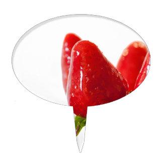 Strawberry Lollipop Cake Topper