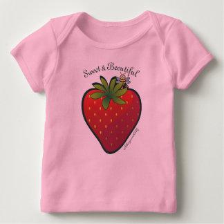 Strawberry Long Sleeve Shirt Pink