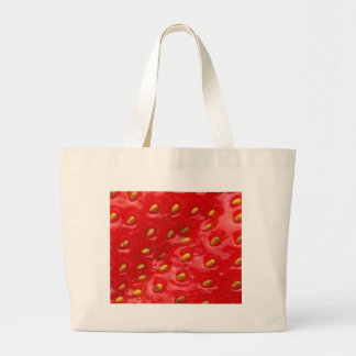 Strawberry Love Canvas Bags