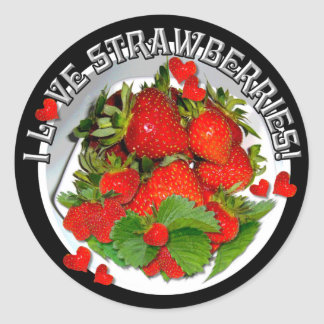 STRAWBERRY LOVE ~ Stickers