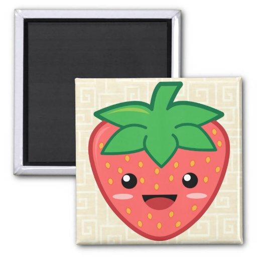Strawberry Fridge Magnet