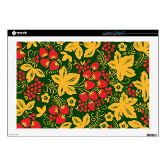 "Strawberry Maple Hohloma Skin For 17"" Laptop"