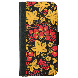 Strawberry Maple iPhone 6 Wallet Case