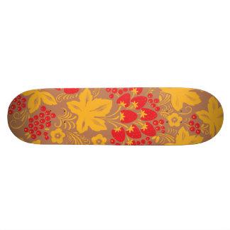 Strawberry Maple Custom Skateboard