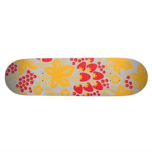 Strawberry Maple Skate Decks