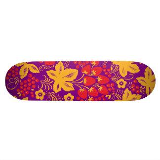 Strawberry Maple Skateboard Deck