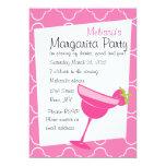 "Strawberry Margarita Party 5"" X 7"" Invitation Card"
