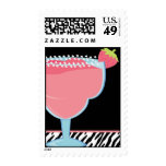 Strawberry Margarita Postage Stamp