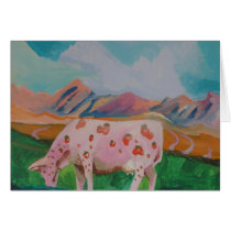 Strawberry Milk Cow by Stephen R. Card