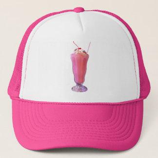 Strawberry Milkshake Trucker Hat