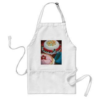 strawberry & mint adult apron