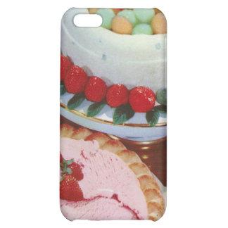 strawberry & mint iPhone 5C cases