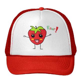 Strawberry Monster Hat