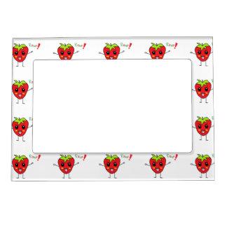 Strawberry Monster Magnetic Frame