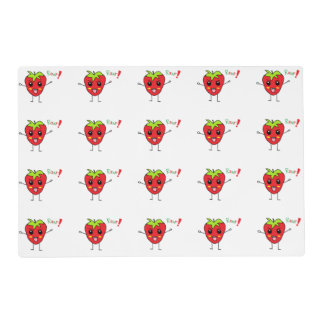 Strawberry Monster Placemat