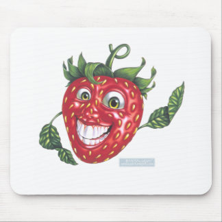 strawberry mouse mats