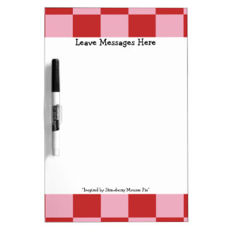 Strawberry Mousse Pie Colors Dry Erase Board