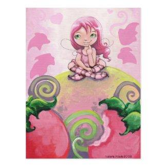 strawberry Munchie Postcard