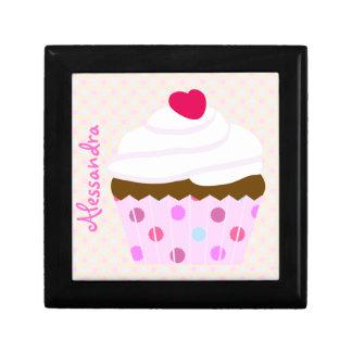 Strawberry 'n' Cream Cupcake Gift Box