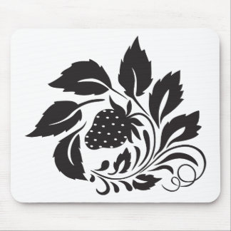 strawberry, nature, abstract, trees, foliage mouse pad
