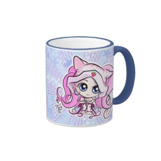 Strawberry Neko Coffee Mugs