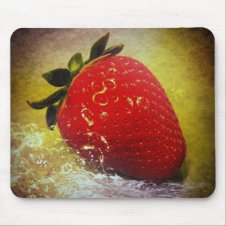 strawberry network mouse pad