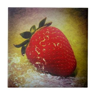 strawberry network tile