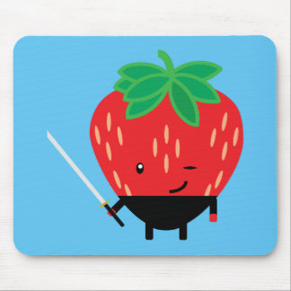Strawberry-Ninja Mouse Pad