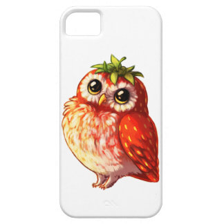 Strawberry Owl iPhone Case